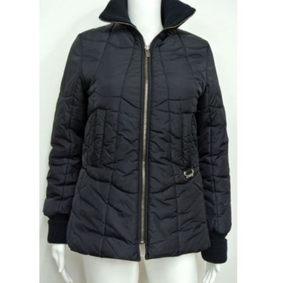 be7ac23f9e Diesel Black Quilted Jacket Size XS